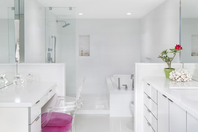 The Cove I, Palm Beach  |  Bathroom Renovation